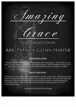 Amazing Grace for Clarinet Choir