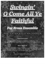 Swingin' O Come All Ye Faithful - for Brass Ensemble