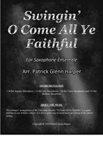 O Come All Ye Faithful - for Saxophone Ensemble